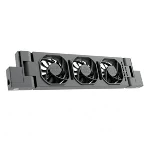 HeatFan 3 - Enkele Set Radiator Ventilator - Black Edition